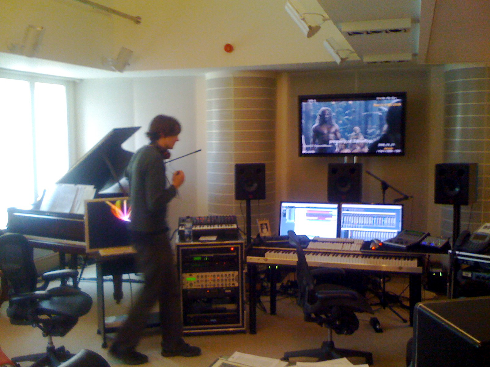 tommy studio recording film