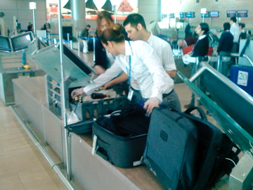 luggage security tel aviv ben gurion airport